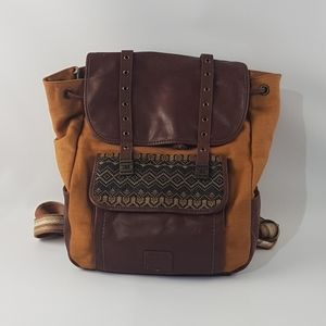 The sak brown backpack